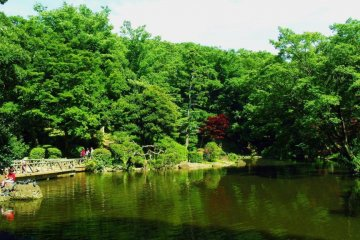 Arisugawa Park in Hiroo