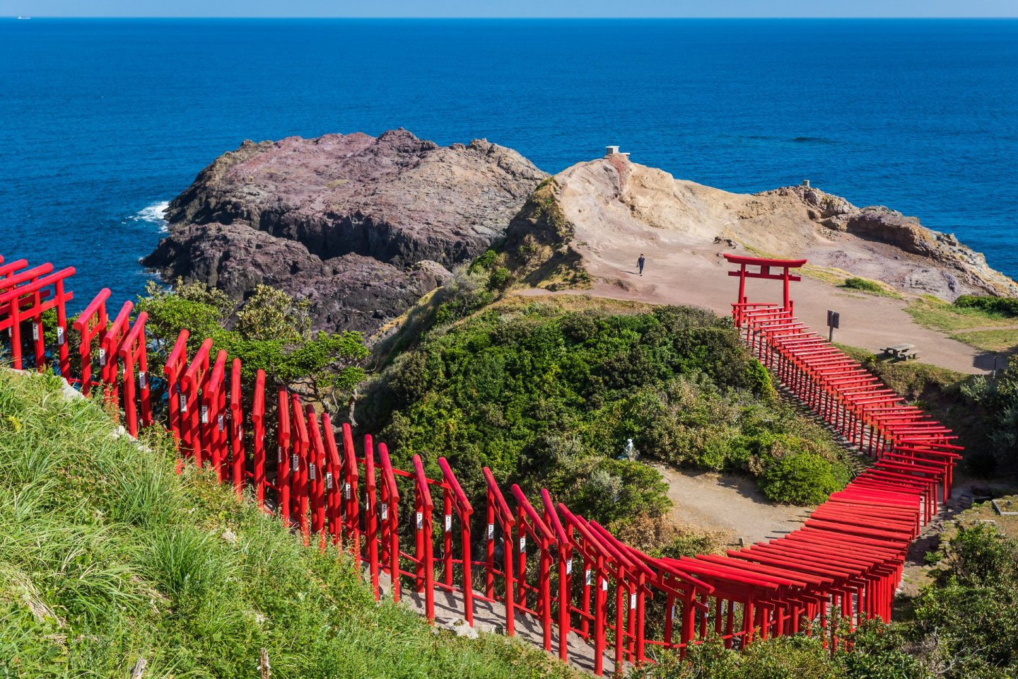 123 torii connect you to this natural hotspot
