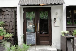 Equipment Floor, a funky cafe tucked away in central Kumamoto