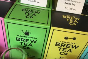 If you are a green tea fan they have you covered there as well!