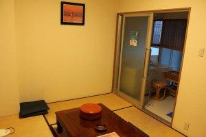A two-person room at Seapa Makoto