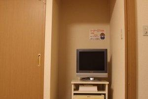 TV, fridge, air conditioner