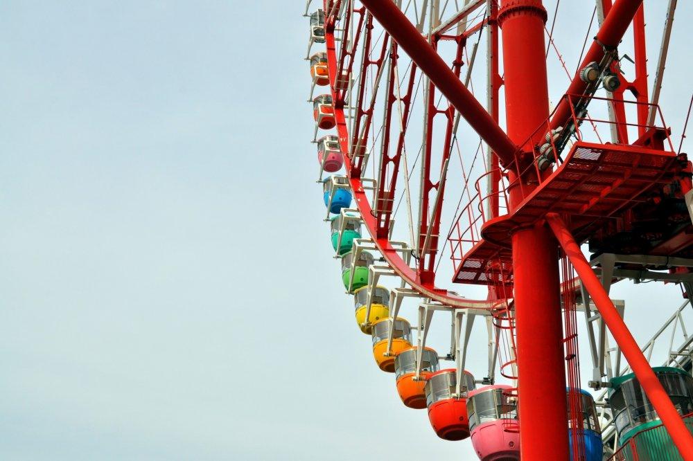 O arco-íris que é a Daikanransha