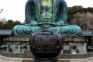 Kamakura's Daibutsu is a beautiful bronze statue built in the mid 13th century