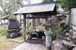 Temizuya water ablution basin