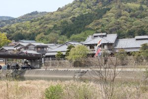 Traditional housing in Okageyokocho