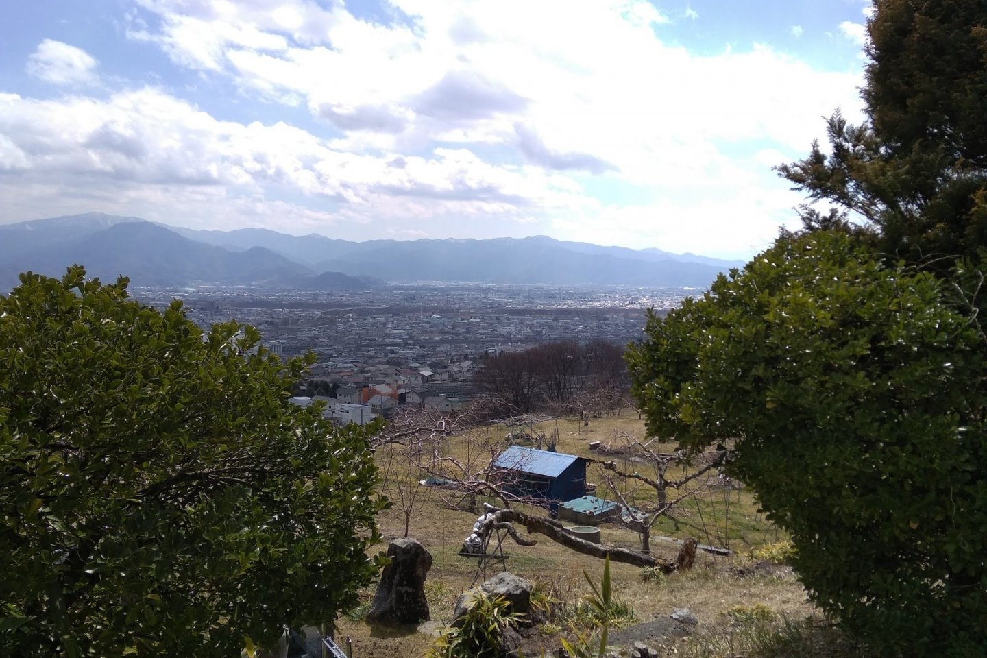 Nagano from above