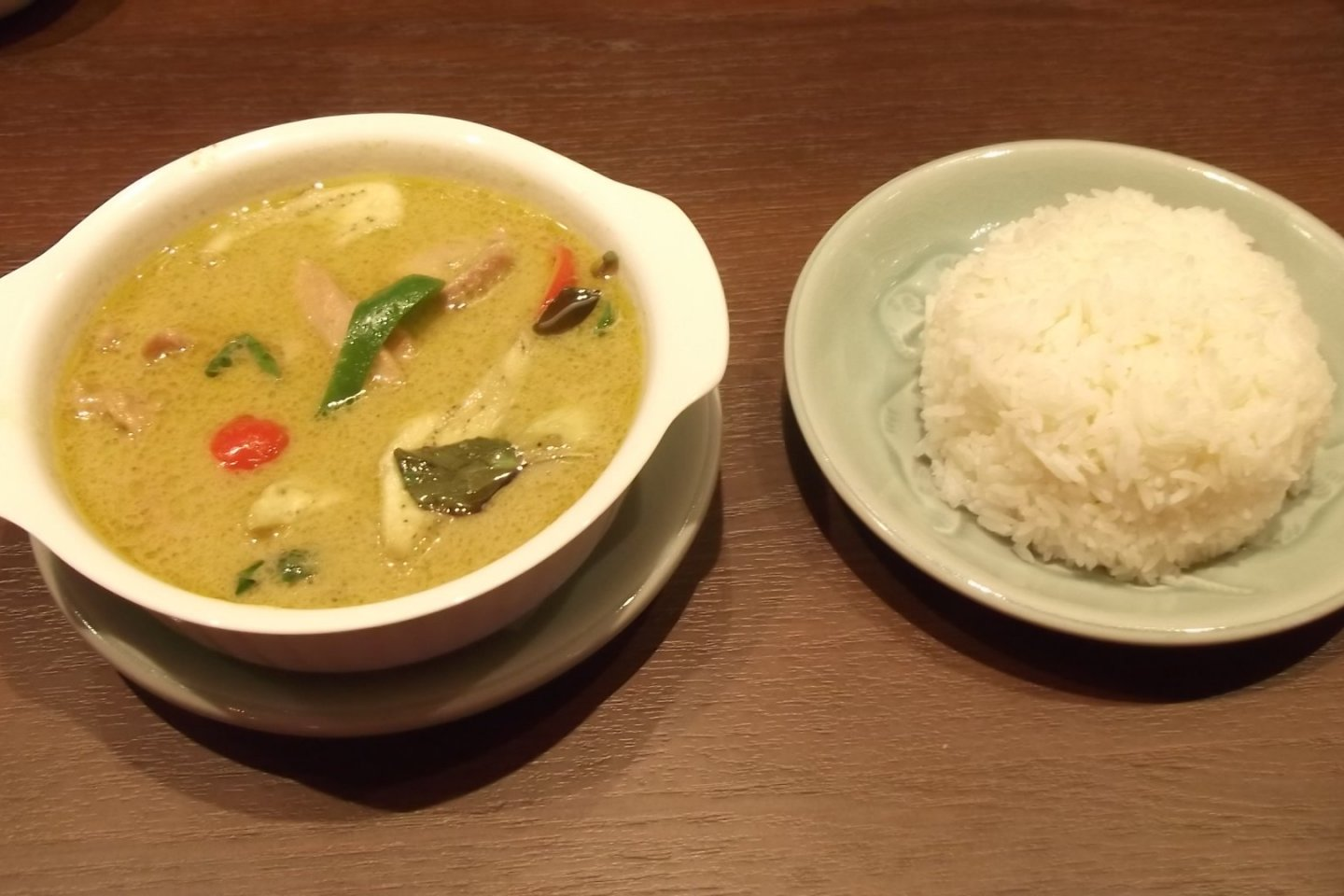 My green curry