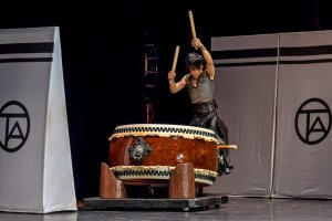 Taiko uses some pretty big drums...
