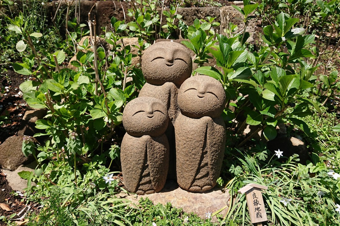 Hasedera temple statues