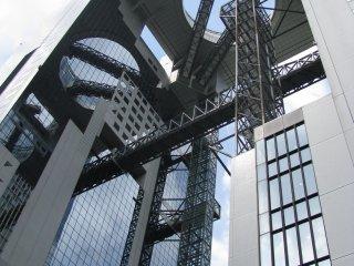 Futuristic Umeda Sky Building