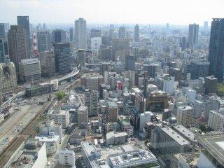 Grand view of Osaka