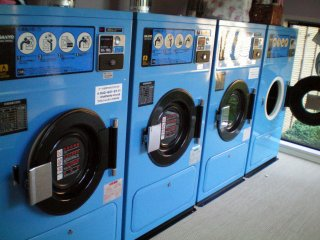 Oakhouse Kamata 260 washing and drying facilities