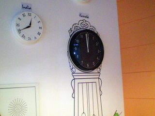 Oakhouse Kamata 260 world clocks