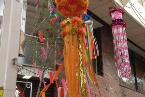 Traditional kusudama decoration