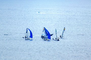 The 2020 Olympic Games: Enoshima Yacht Harbor