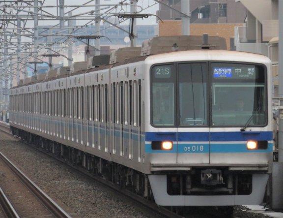 Tokyo's Tozai Subway Line