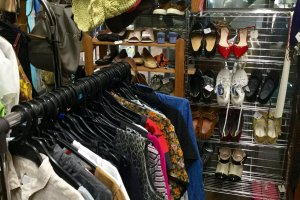 Pre-loved clothes and shoes