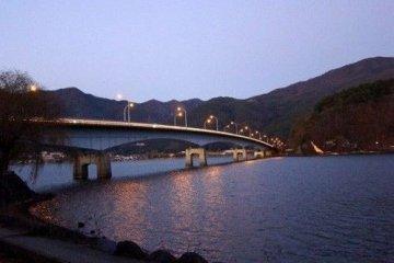 告别河口湖和富士山
