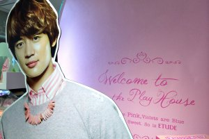 A member of the SHINee K-Pop group is also a model for Etude House