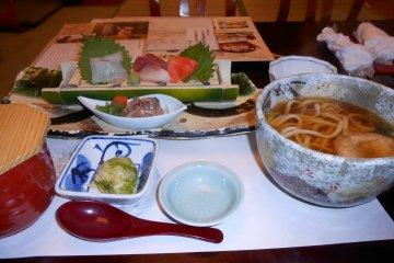 Japanese Restaurant Ganko in Ginza