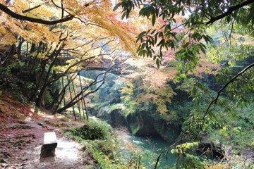 加賀・山中 「鶴仙渓(かくせんけい)」