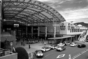 JR Nagasaki station, the starting point of all my adventures in Nagasaki