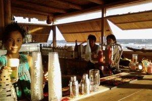 Customer's-eye view of Bar Asia