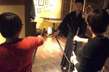 Samurai Experience in Tokyo