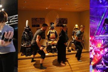 VR ZONE SHINJUKU, Samurai Museum and Robot Restaurant Tour