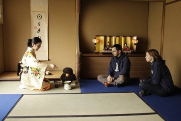 Kyoto: Tea Ceremony Camellia FLOWER (Group)