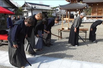 Samurai Experience in Sennan, Osaka Prefecture