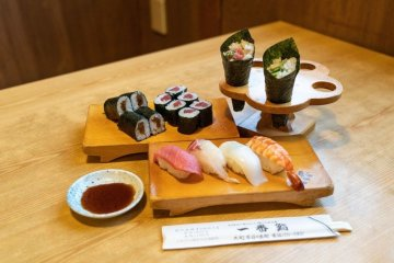 Sushi Making Experience in Omachi, Nagano