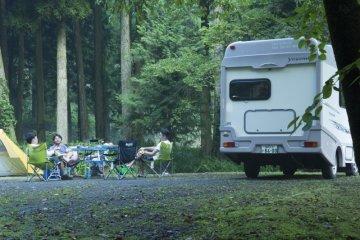 Rental Campervan for Travel in Japan
