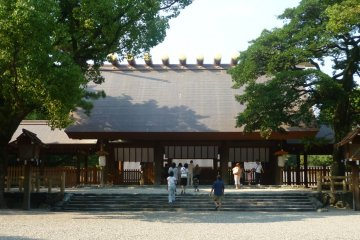 Atsuta Shrine and the Legendary Sword