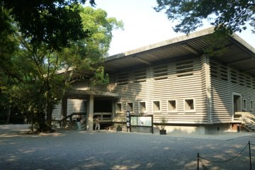 The Treasure House museum housing the Atsuta Shrine collection.