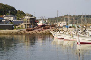 A Fishing Harbor on Tsunoshima