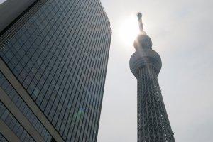 โตเกียวสกายทรีที่ความสูง 634 เมตร