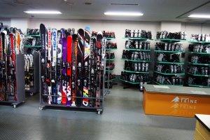 ภายในห้องเลือกสกี