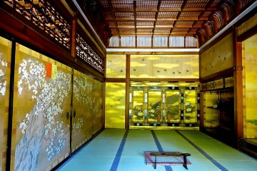 Shiro-shoin(reception room) is truly gorgeous!