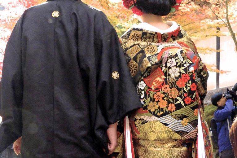 Где искать кимоно, находясь в Киото?