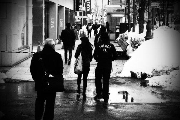 ถ่ายภาพคนเมืองช่วงกลางวัน