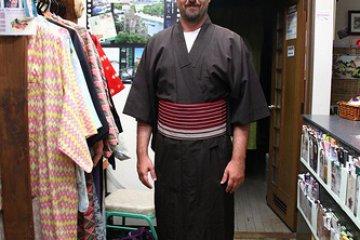 Try a yukata cotton kimono in their shop