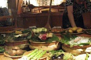 วัตถุดิบที่สดสะอาดที่สุดทั้งเนื้อและอาหารทะเล