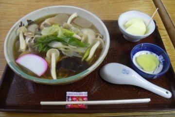 <p>Delicious, handmade soba!</p>