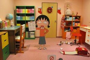 ห้องนอนของมารูโกะจัง