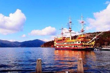 หลงไปกับเรือโจรสลัดในทะเลสาบอาชิ
