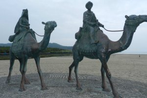 The fanous statues of Onjuku
