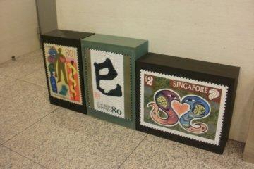 Enlargements of stamps