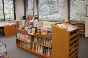 Some of the materials in the library
